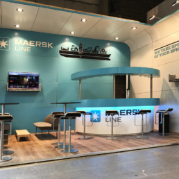 Messestand - Maersk Line