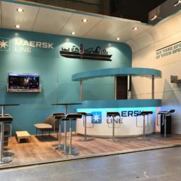 Messestand - Maersk Line