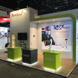 Messestand - Ambu