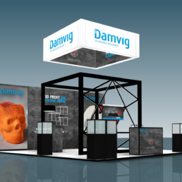 Messestand - Damvig Develop