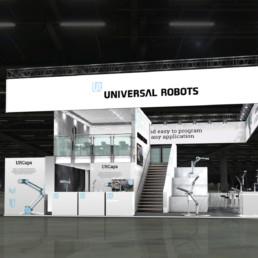 Messestand - Universal Robots