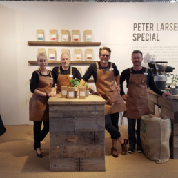 Messestand - Peter Larsen Kaffe