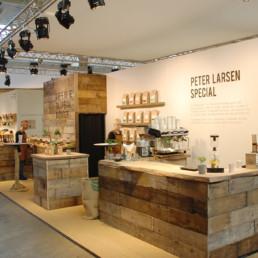 Messestand - Peter Larsen Kaffe