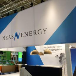 Messestand - Neas Energy