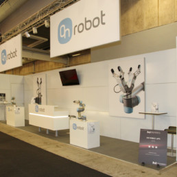 Messestand - On Robot
