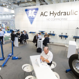 Messestand - AC Hydraulic