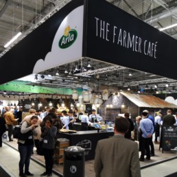Messestand - Arla