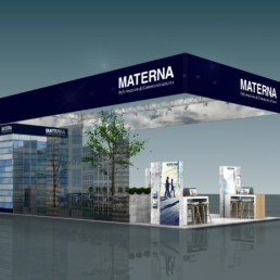 Messestand - Materna