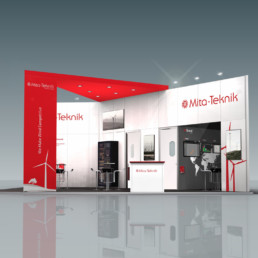 Messestand - Mita-Teknik