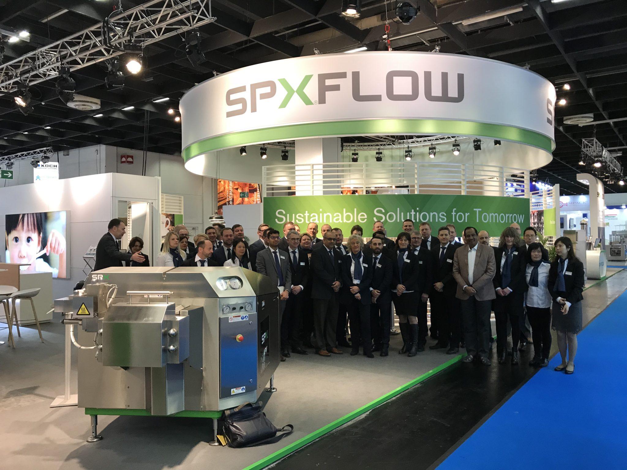 SPX FLOW - Anuga Foodtec