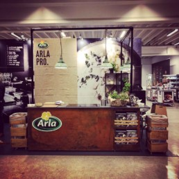 Arla messestand, Expo Partner