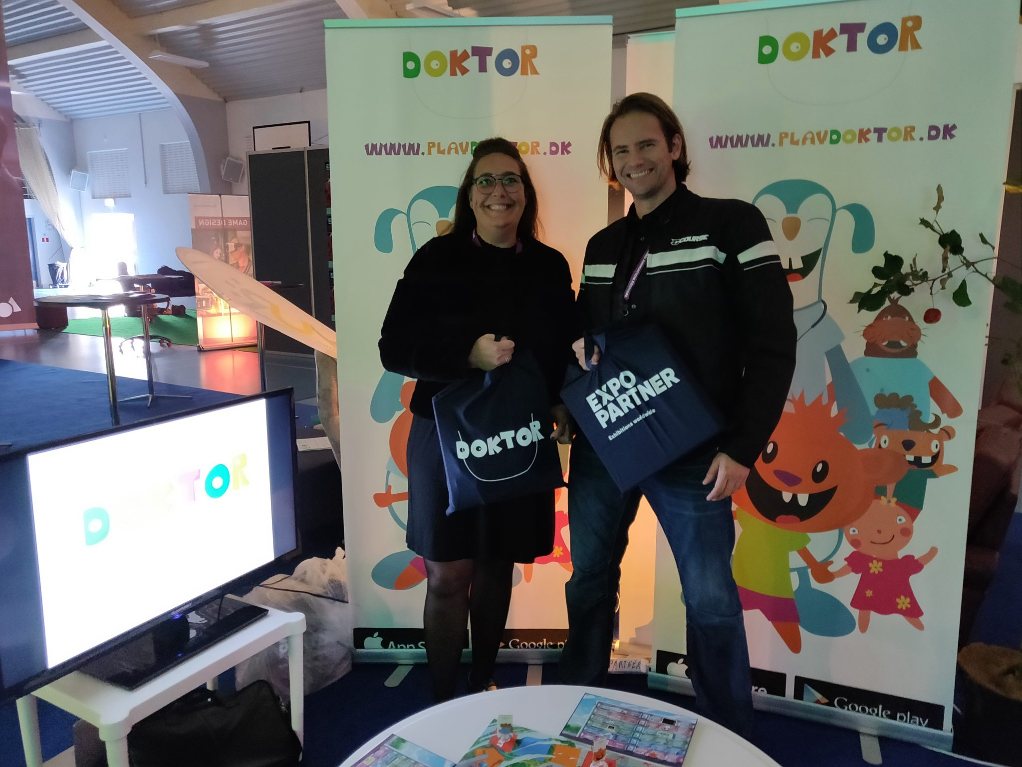 Playdoktor og Expo Partner