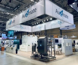 Au2mate - messestand, Expo Partner