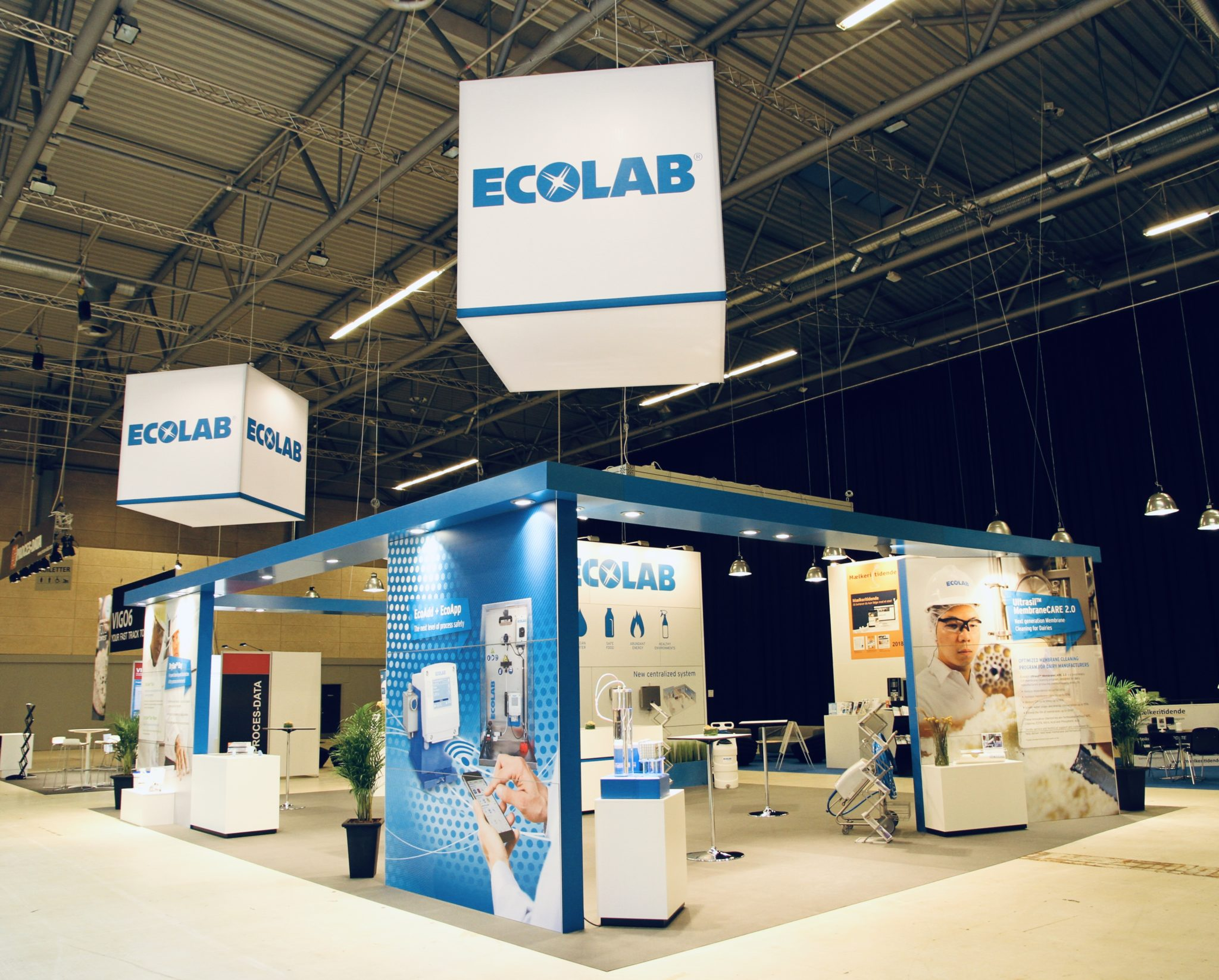 Ecolab - messestand, Expo Partner