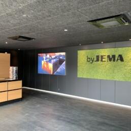 byJEMA showroom, kontorindretning / domicilindretning udført af Expo Partner