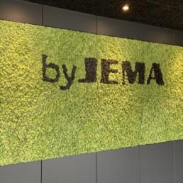 byJEMA showroom og kontorindretning af Expo Partner