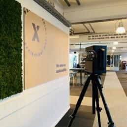 Virtuelt showroom og udstilling ved 3d Scanning / matterport af Expo Partner