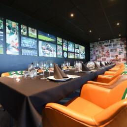 VFF skybox / lounge designet og konceptudviklet af Expo Partner
