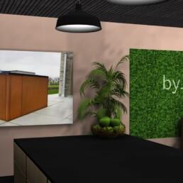 byJEMA showroom og domicilindretning udført af Expo Partner